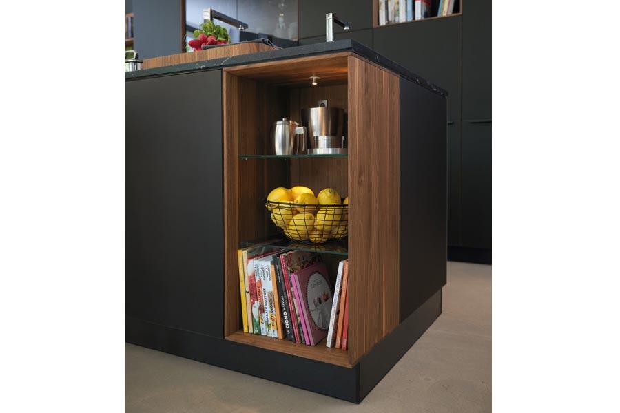 team 7 black line k che bodesign m bel qualit t aus kiel. Black Bedroom Furniture Sets. Home Design Ideas