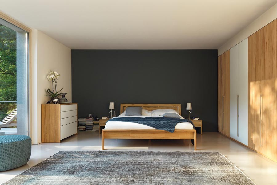 team 7 lunetto bett bodesign m bel qualit t aus kiel. Black Bedroom Furniture Sets. Home Design Ideas