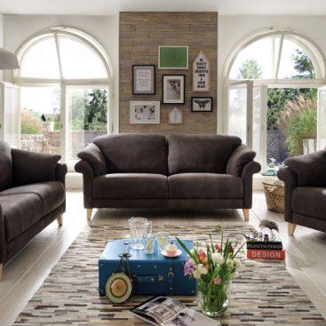 Sofa + Sessel Basilia
