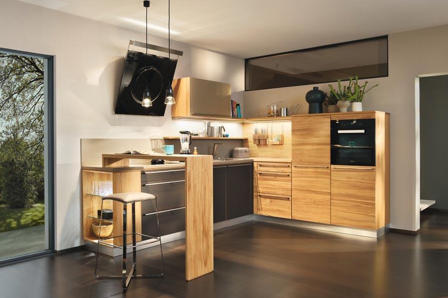 Die Einzelnen Elemente Der L1 Küche Können Beliebig Mit Den Schränken Des  Umfangreichen Linee Programms Kombiniert Werden. TEAM 7 L1 Küche