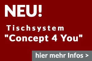 Tischsystem Concept4You