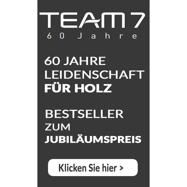 Team 7 60 Jahre Jubiläum beitag