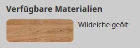 Bet Type f verfügbare Materialien