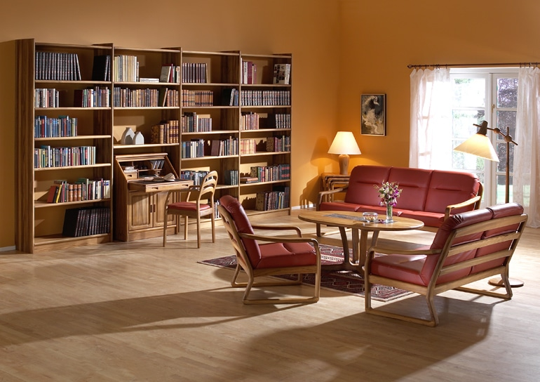 frederiksborg Bücherregal mit Gestellgarnitur 1210