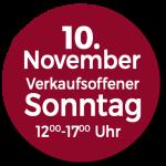 Verkaufsoffener Sonntag 10 November